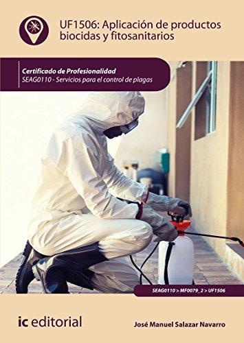 Aplicación de productos biocidas y fitosanitarios