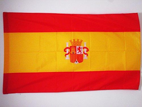 Bandera de españa del bando sublevado 1936-1938 150x90cm para palo