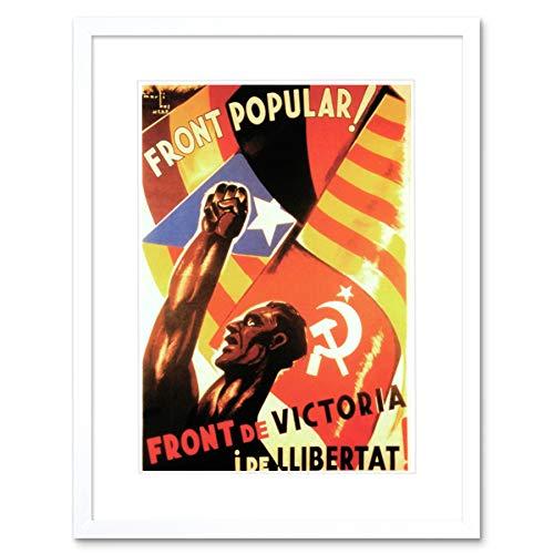 Guerra civil española frente popular comunismo contra españa fascista impresión b12 x 2056 12 x 16 in