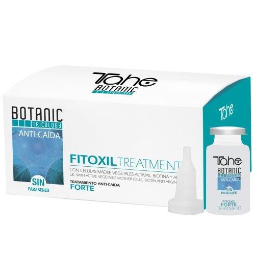 Botanic tricology fitoxil forte tratamiento anticaída del cabello/ampollas para caída cabello/cabellos castigados con células madre vegetales activas
