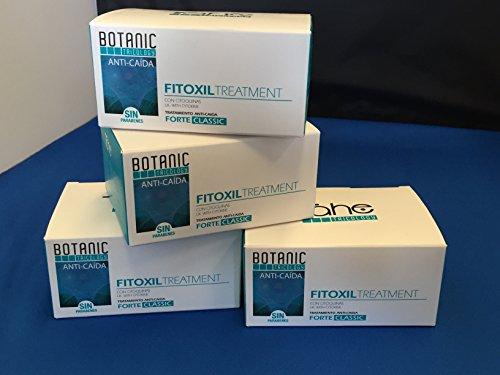 Tricology fitoxil ampollas para caida del cabello 20x10ml programa anticaida pak 4 cajas de 5 ampollas
