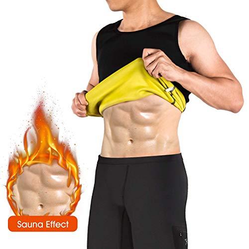 Mangas Shaper Chaleco Sauna Transpirar Neopreno Trajes Gimnasia Para Hombre Camiseta Sin Quema Grasa Body BCxrdeWoQ