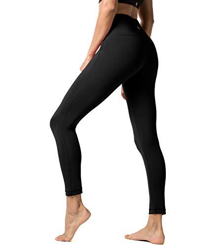 Yoga pantalones de deporte para mujeres leggings bolsillo oculto