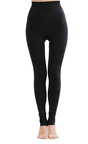 Legging gruesa elástica térmicos forro polar para mujer invierno mujer pantalones elásticos leggings mujeres invierno grueso cálido forrado térmico