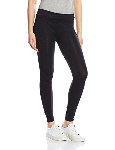 Seam free leggings-pantalones premamá mujer negro negro w28