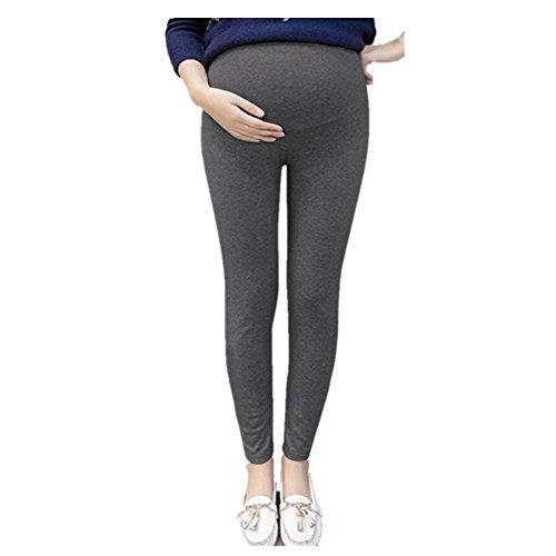 Pantalones premamá leggings banda para barriga mujer embarazada maternidad