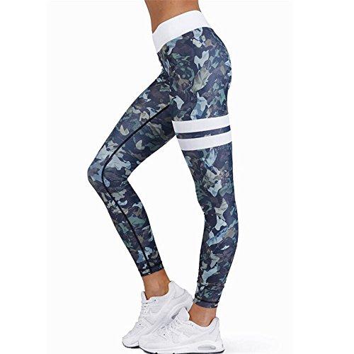 Leggings deportivos elásticos y transpirables para mujer