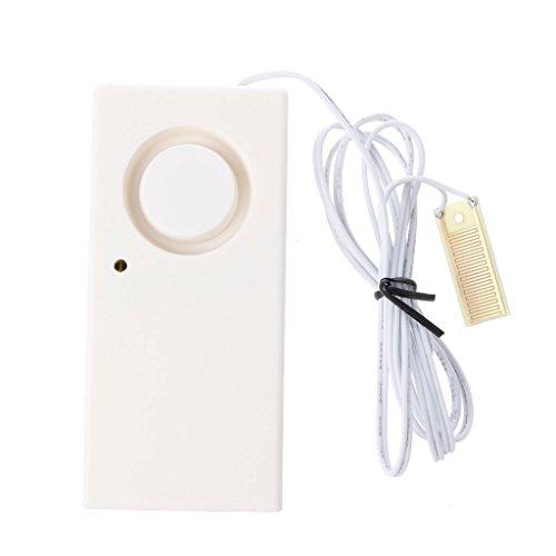 Detector inalámbrico de fugas de desbordamiento de agua con sensor de alarma y sistema de seguridad para el hogar sd-1