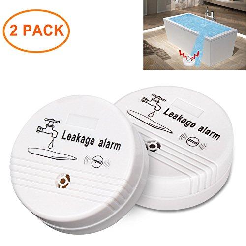 Detector de fugas de agua ceebon con alarma sonora de 90 db para uso doméstico