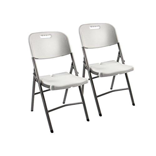 2 x silla de jardín