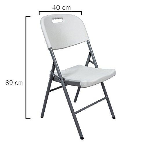 8043820 silla plegable con agarre 47x42x88cm