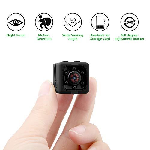 Mini cam surveillance cámara portable hd cam cámara espía hd 1920*1080p mini cámara oculta portátil interior cámara espía con detectores de movimiento