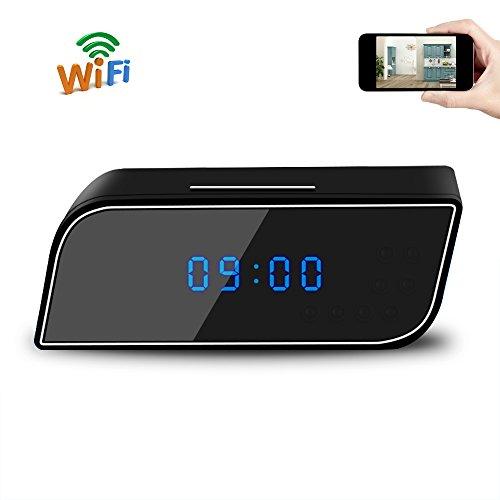 Reloj espía cámara uyikoo mini reloj cámara oculta 1080p hd wifi p2p reloj seguridad cámara cámara soporte noche