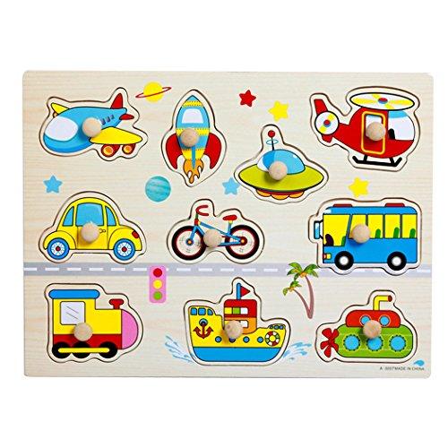 Rompecabezas de madera con puzzles rompecabezas para niños de 2 a 5 años