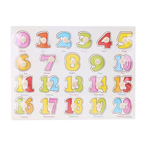 Puzzles de madera magnéticos juquetes infantil juquetes educativos para niños y bebes juquetes para conocer números frutas animales