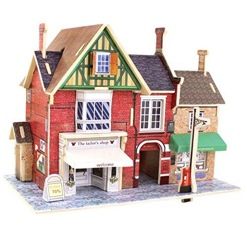 3d puzzle madera diy modelo creativo juguete educativo juego para niño niña