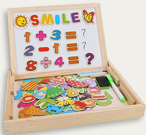 Puzzles rompecabezas magnéticos de madera