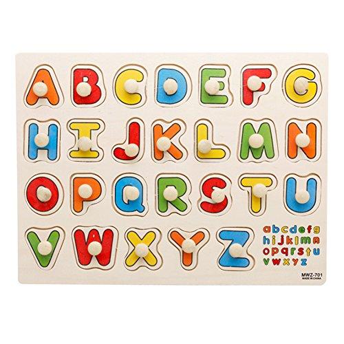 Carta de madera peg puzzle jigsaw bundle forma de juguetes y juegos para niños de 2-7 años de edad