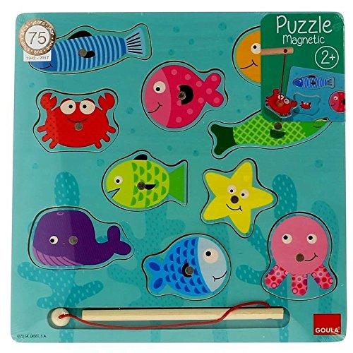 Puzzle pesca magneticos para niños de 2 años