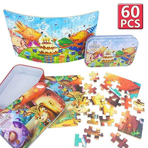 Puzzles para 3 4 5 6 años de edad