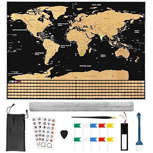 Mapa mundi rascar