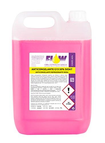 Anticongelante refrigerante g13 50% si-oat rosa 5 l