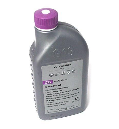 Volkswagen original g13 líquido refrigerante ready mix j4 vw audi seat skoda 1.5l mezcla preparada g013040m2