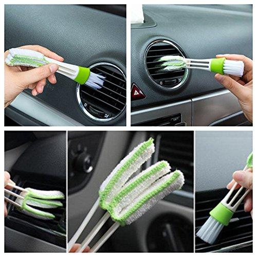 Cepillo limpiador de ventilación de coche