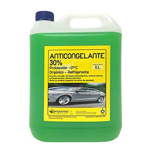 Anticongelante 30% -17ºc orgánico.envase 5 litros