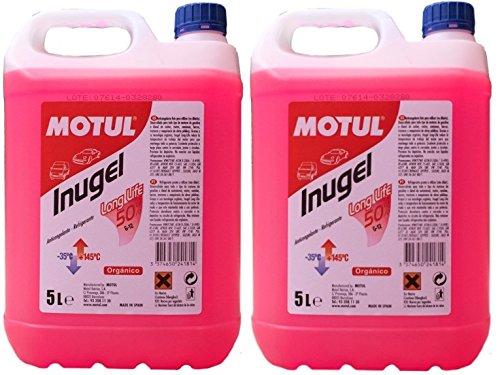 Anticongelante refrigerante motor inugel long life 50% g12,10 litros