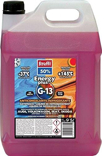 Krafft anticongelante refrigerante energy plus g-13 5 litros