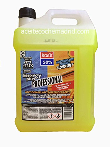 Anticongelante cc-energy plus-50 5l amarillo