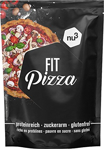Fit pizza baja en carbohidratos