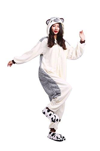 Adultos todo en uno sleepsuit unisex pijama de dibujos animados de halloween cosplay ropa trajes erizo medio