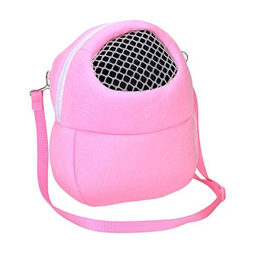 Gran portátil saliente erizo transpirable hamster carrier bolsas pequeño pet travel bolsa de hombro mascotas accesorios