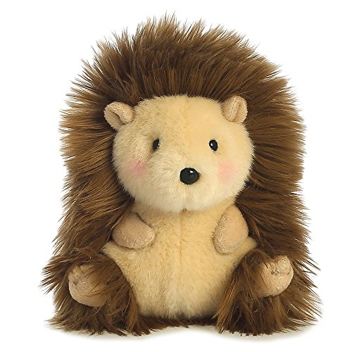 Juguete erizo mascota de peluche world happy hedgehog rolly