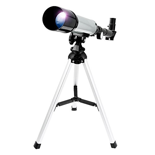 Telescopio astronómico zoom hd al aire libre monocular espacio telescopio con trípode telescopio terrestre para niños