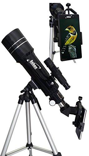 Telescopio 400/70 telescopio terrestre incl
