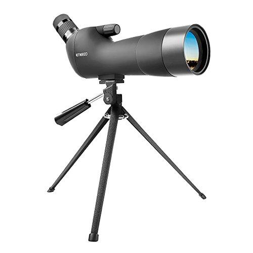 20-60x60ae telescopio monocular con trípode anguloso impermeable