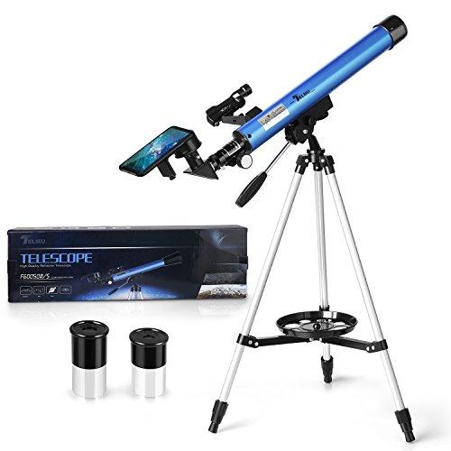 Telescopio astronomico f60050m/5 longitud focal 600 mm ultra-alto claro de 50 mm para telescopio celestron y la visualización terrestre y uso astronómico
