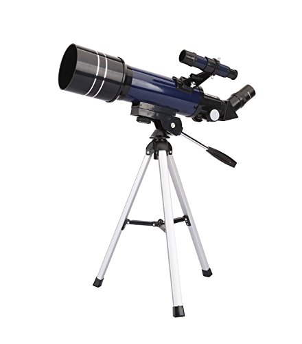 Telescopio refractor astronómico de alta calidad ultra claro con trípode de mesa y buscador