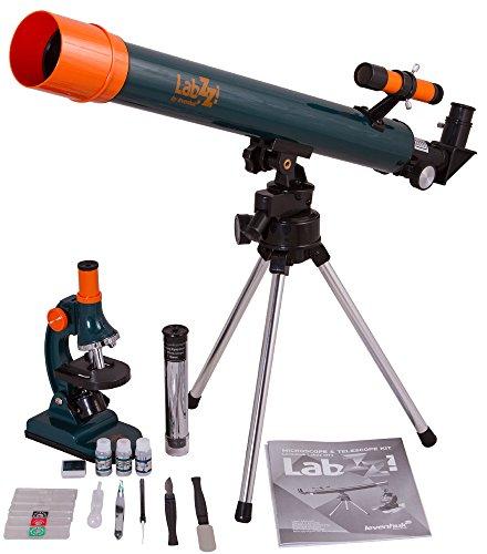 Conjunto de microscopio y telescopio labzz mt2