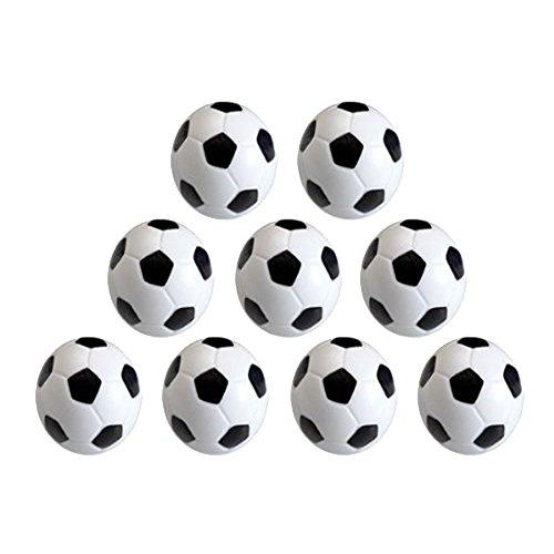 9 piezas mini 32 mm mesa futbolín