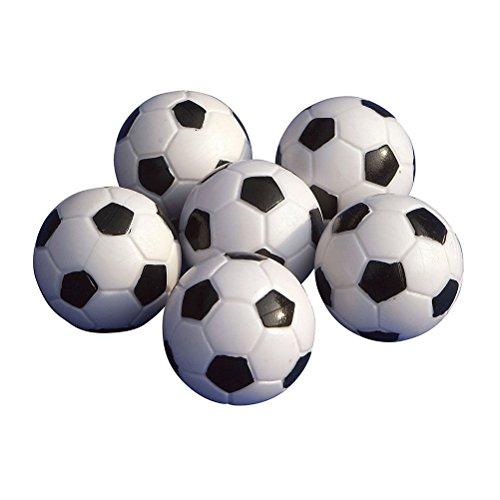 6pcs 32mm mesa mini pelotas de fútbol para actividades deportivas