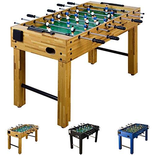 Futbolín de mesa «glasgow» con juego de accesorios
