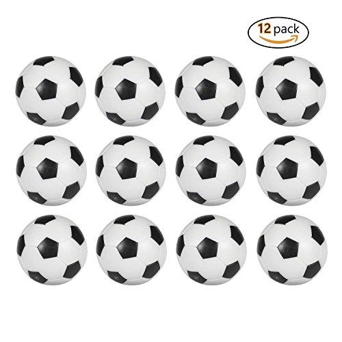 12 bolas de repuesto para futbolín