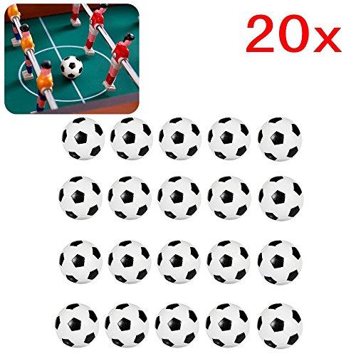 20 piezas 32 mm plástico mesa futbolín balones fútbol para niños y adultos fiesta cumpleaños favores bolsas fiesta juego de juguete