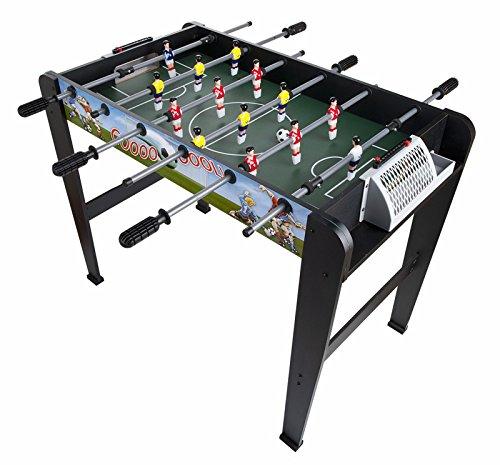 Super gool futbolín para niños futbolín juego de mesa fútbolista deporte patada de mesa soccer football balón robusto y resistente