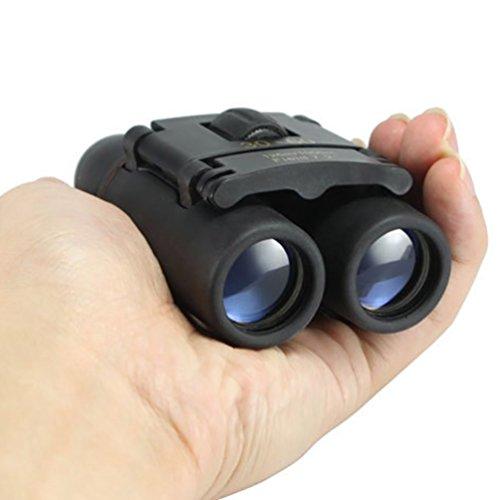 Prismáticos al aire libre de 30×60 mini zoom telescopios plegables de visión diurna y nocturna