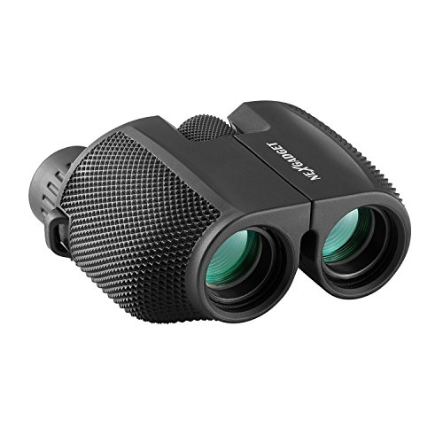 Binoculares portátiles prismáticos mini 10 x 25 telescopio ligero